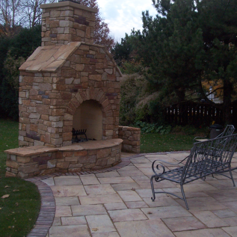 Firepit with Chimney 1
