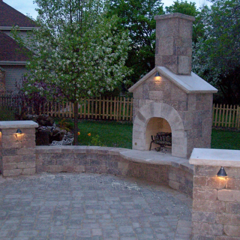 Firepit with Chimney 2