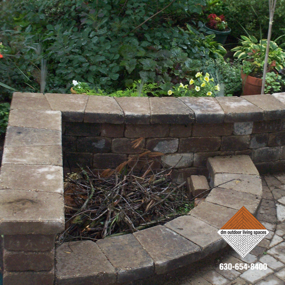 Stone Fireplaces | Circular Fit Pits | Outdoor Fireplaces ...
