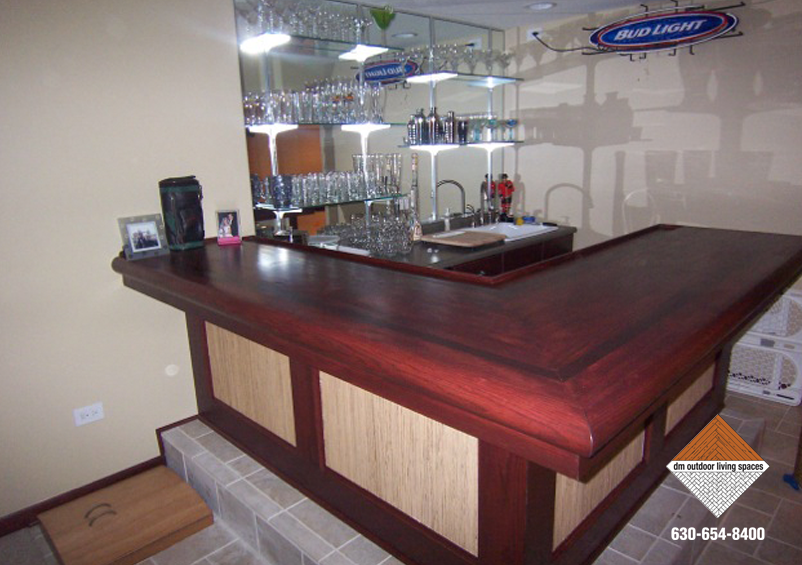 Custom Basement Bars Custom Basement Bar