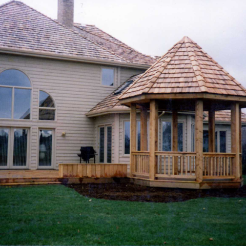 Custom Build Treated Gazebo and Patios