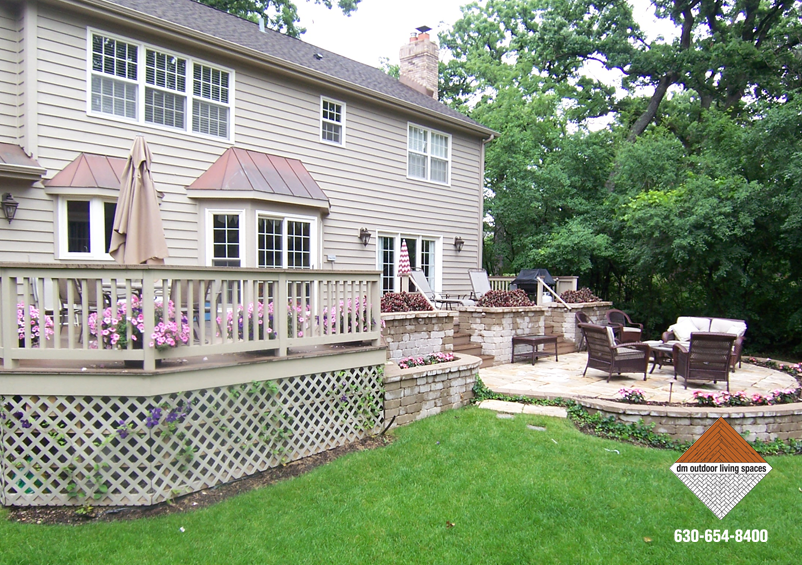 Decks and Railings | Outdoor Patio D M Outdoor Living Spaces
