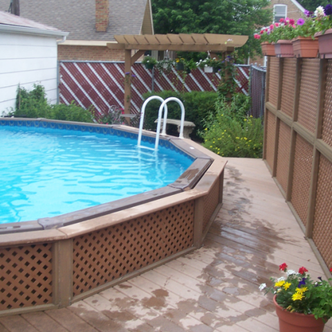Trex Pool Deck and Patio