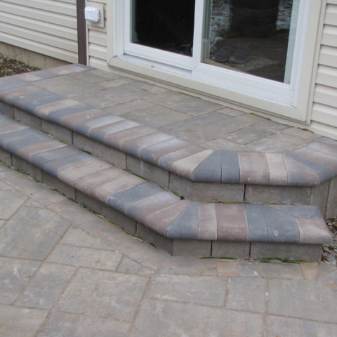 Front Step Pavers