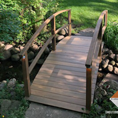 Composite Decking Bridge over Babbling Brook