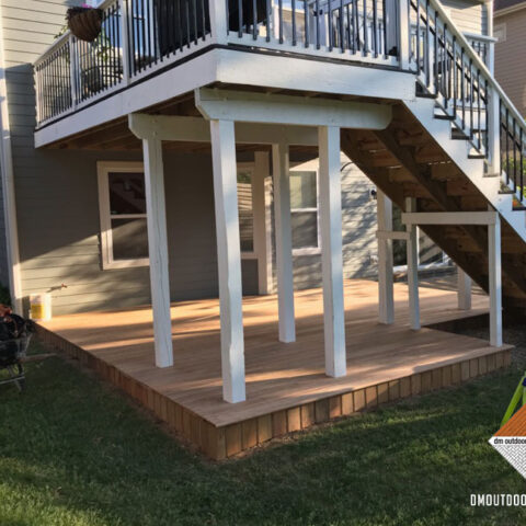 Composite White Under Decking