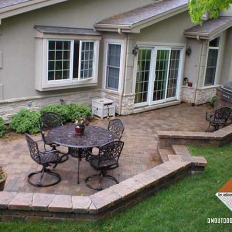 Sunkin Natural Stone Patio and Coping
