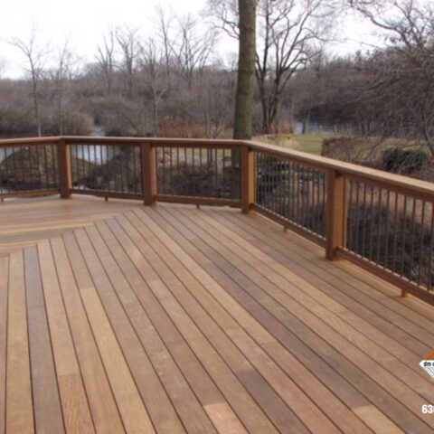 Toned Composite Deck